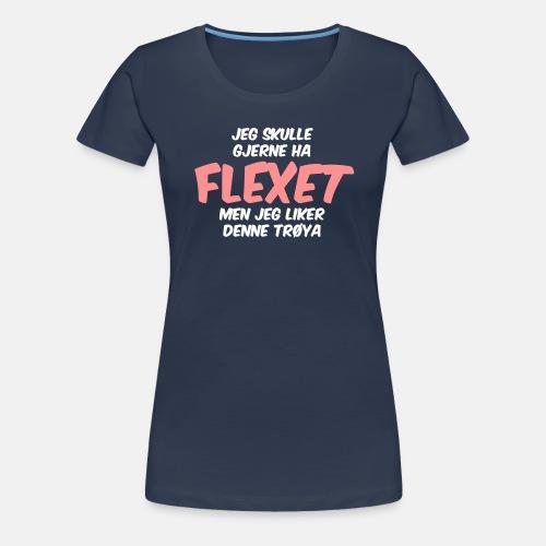 Jeg skulle gjerne ha flexet, men jeg liker denne
