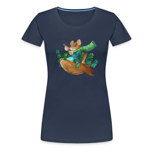 Glücksmaus - Frauen Premium T-Shirt