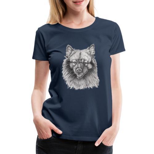 Keeshond - grossspitz - Dame premium T-shirt