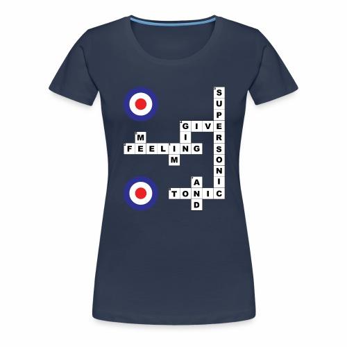 Supersonic - Crossword - Women's Premium T-Shirt