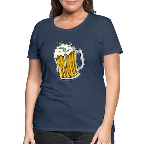 Boccale Birra - Maglietta Premium da donna