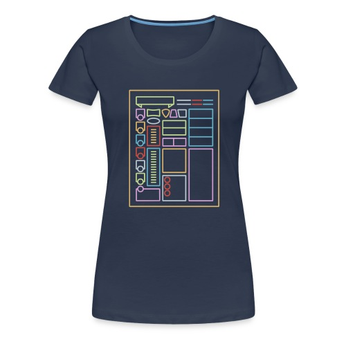 Dnd Character Sheet - DnD Dungeons & Dragons D&D - Frauen Premium T-Shirt