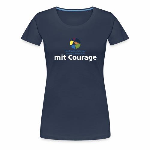 Schule mit Courage - Frauen Premium T-Shirt