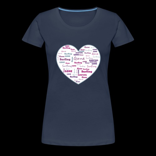 1 png gif - Frauen Premium T-Shirt