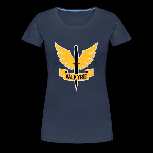 Yellow Valkyrie Logo - Women's Premium T-Shirt