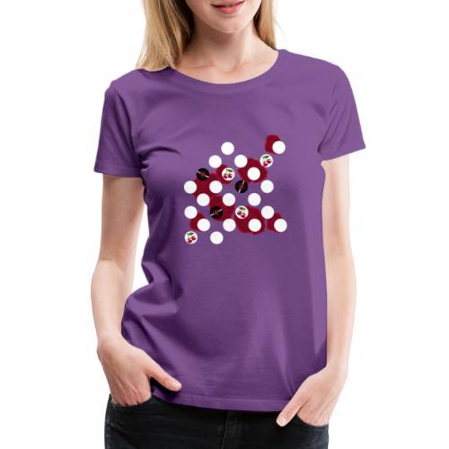 Rockabilly Elemente - Frauen Premium T-Shirt