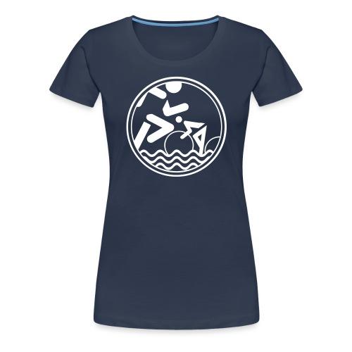 Ostseetriathlon - Frauen Premium T-Shirt