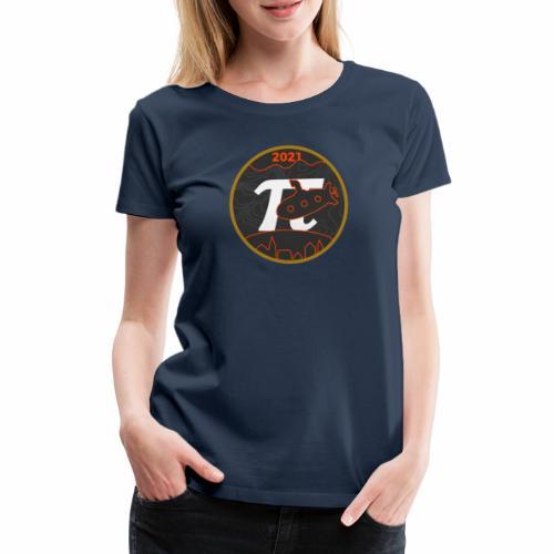 Årslogo 2021 - Dame premium T-shirt