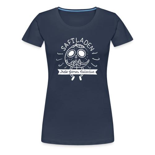 Saftladen Orange weiß - Women's Premium T-Shirt