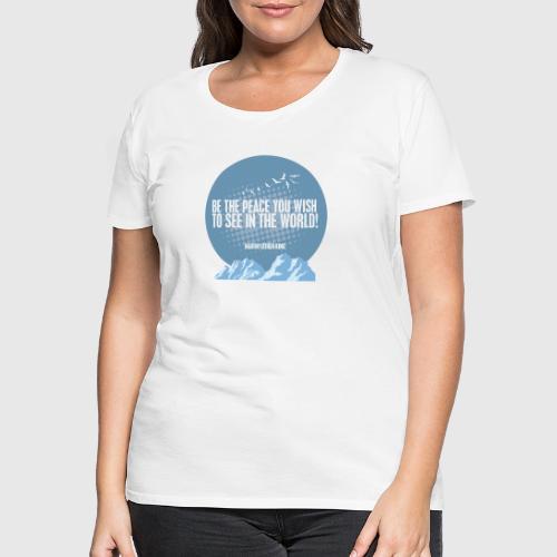 MLK2 png - Dame premium T-shirt