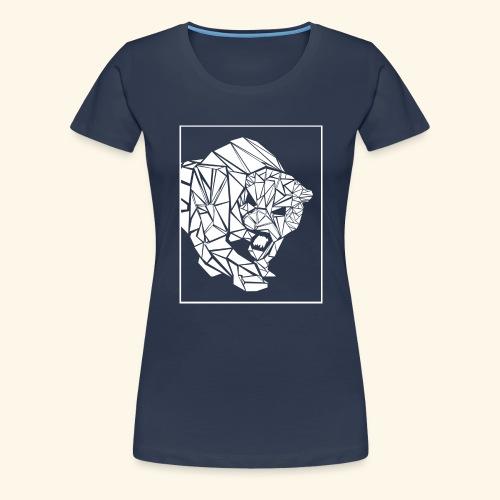 Panther, abstrakt - Frauen Premium T-Shirt