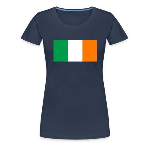 Flag of Ireland svg png - Women's Premium T-Shirt