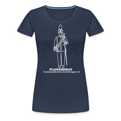 TMV Männchen m. Schriftzu - Frauen Premium T-Shirt