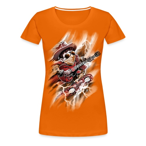Time Rider - Women's Premium T-Shirt