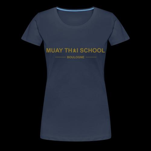 MTS92 BOULOGNE - T-shirt Premium Femme