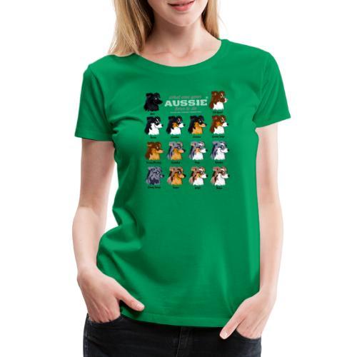 Aussie Colors - Women's Premium T-Shirt