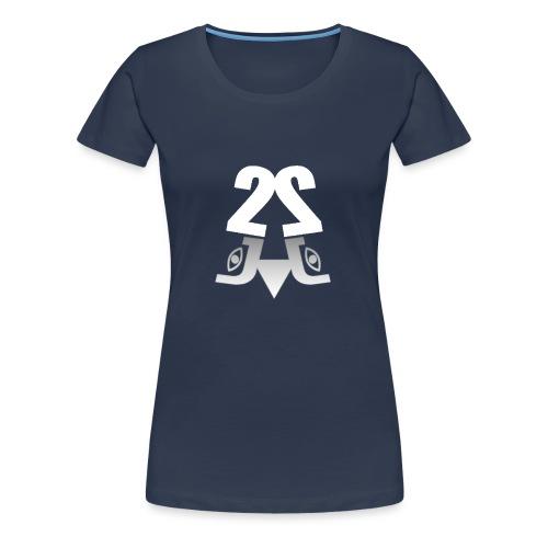 2J Logo - Dame premium T-shirt