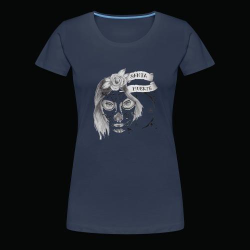 Santa Muerte - Maglietta Premium da donna