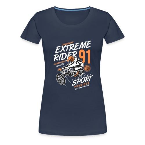 Extreme Rider - Frauen Premium T-Shirt