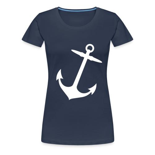anchor - Vrouwen Premium T-shirt