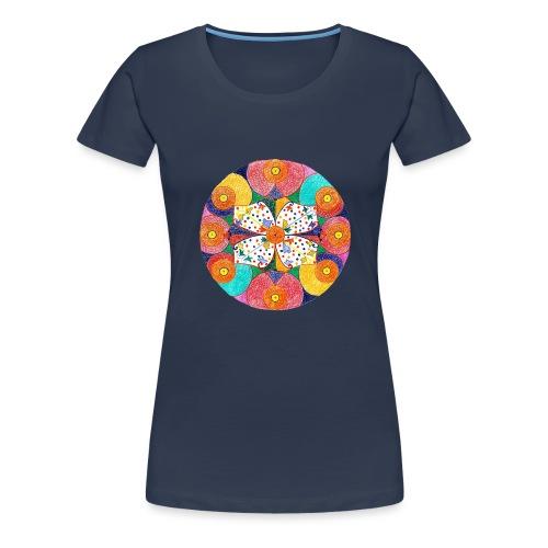 Abundance Mandala gif - Women's Premium T-Shirt
