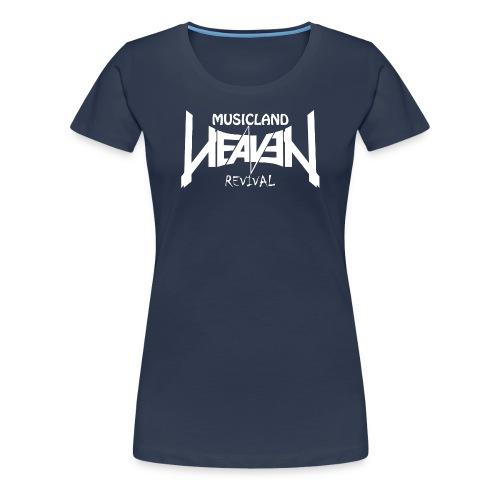 Heaven Revival Navy - Frauen Premium T-Shirt