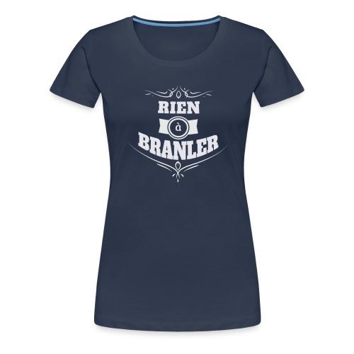 Tshirt RAB bicolore - T-shirt Premium Femme