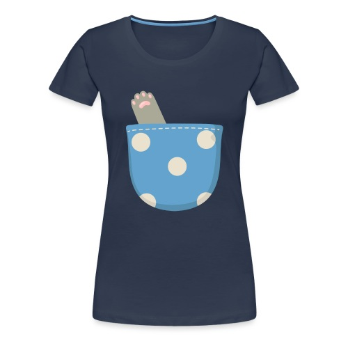 Garra en bolsillo - Camiseta premium mujer