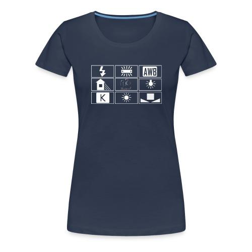 logo wb sombre png - T-shirt Premium Femme