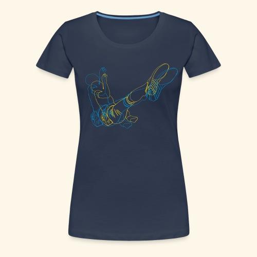 boulderfragment - Frauen Premium T-Shirt