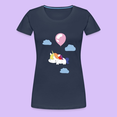 unicornballoon - Frauen Premium T-Shirt