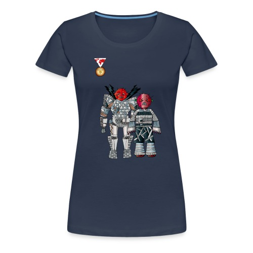 Trashcans - Frauen Premium T-Shirt