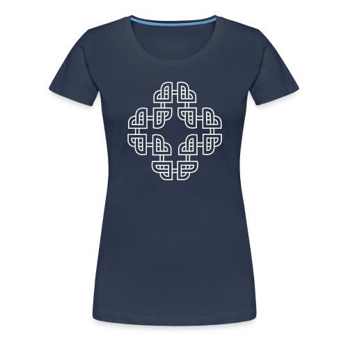 Norse - white - Premium T-skjorte for kvinner