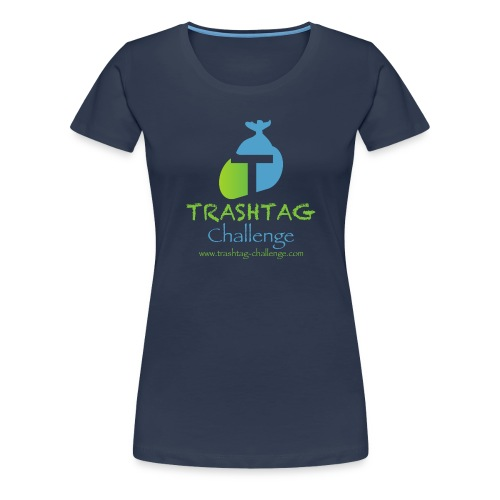 Trashtag Challenge WE CLEAN THE WORLD - Frauen Premium T-Shirt
