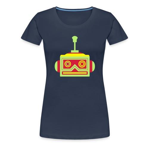 Robot head - Women's Premium T-Shirt
