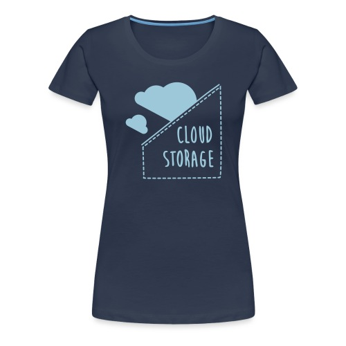 Cloud Storage - Frauen Premium T-Shirt