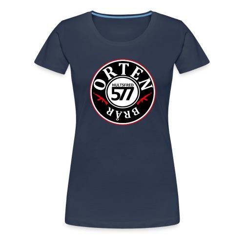 577 ORTEN crew hoodie - Premium-T-shirt dam