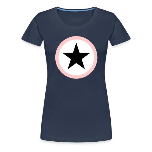 Baby Black Star rose Superstar - Frauen Premium T-Shirt