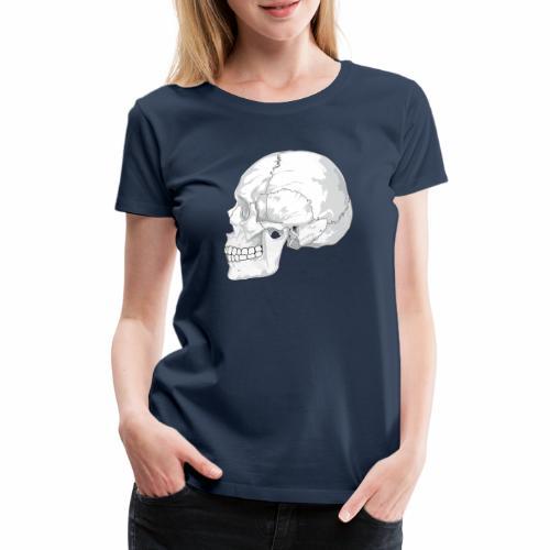 Schädel - Frauen Premium T-Shirt