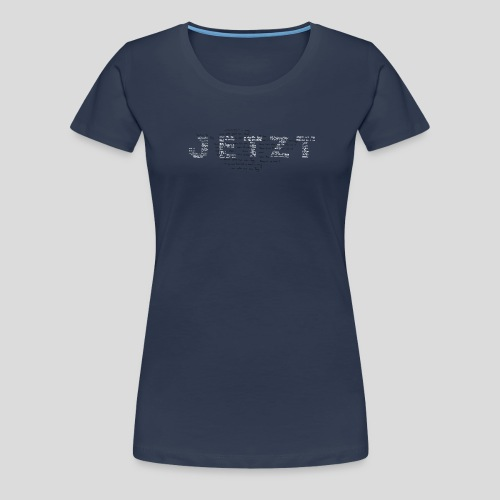typo-sw - Frauen Premium T-Shirt
