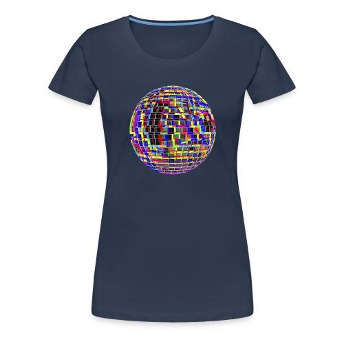 Boule à facettes psychédélique - T-shirt Premium Femme