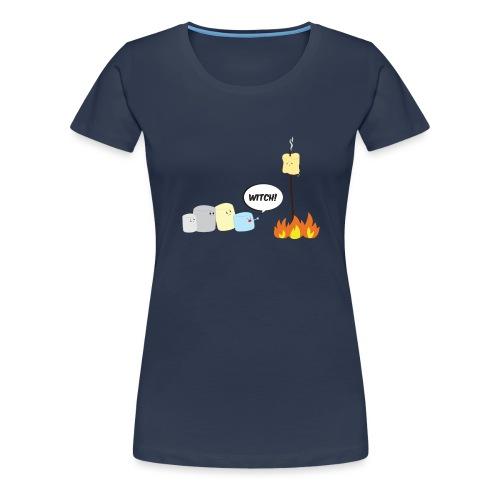 Marshmallow Witch - Maglietta Premium da donna
