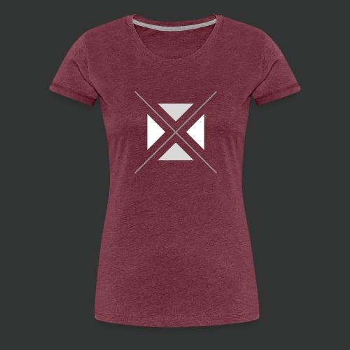triangles-png - Women's Premium T-Shirt