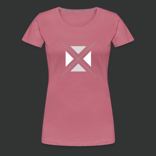 hipster triangles - Women's Premium T-Shirt