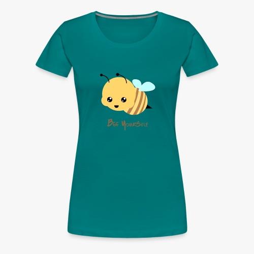 Bee Yourself - Dame premium T-shirt