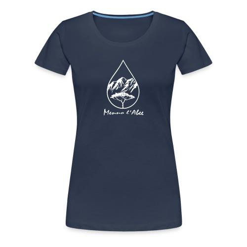 menno labee logo wit - Vrouwen Premium T-shirt
