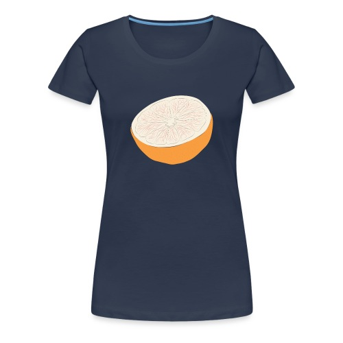 Grapefruit - Premium-T-shirt dam