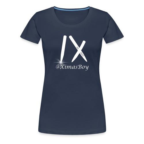 Ivo Ximas Logo - T-shirt Premium Femme