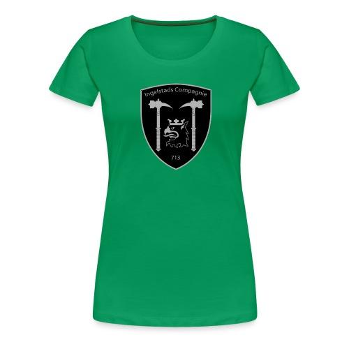 Kompanim rke 713 m nummer gray ai - Premium-T-shirt dam