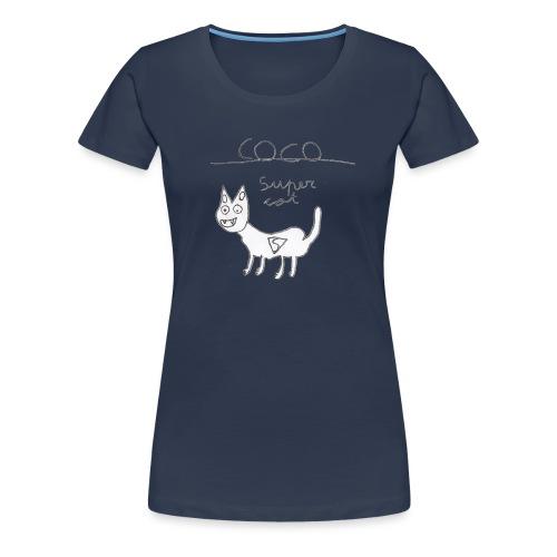 Super cat - Camiseta premium mujer